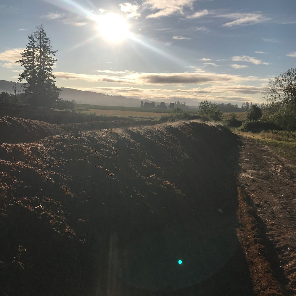 farm made and organic compost