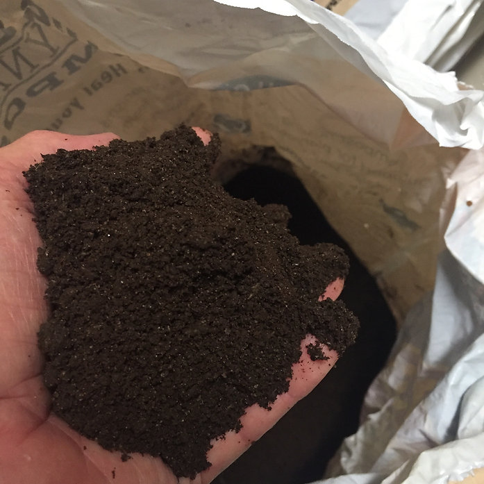 Handful of Bu's Blend Biodynamic Compost