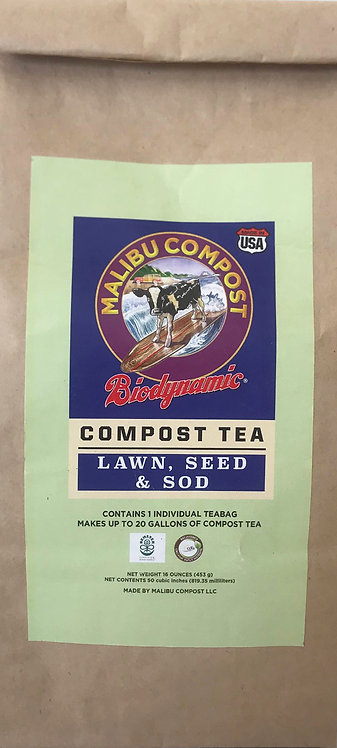 Compost Tea for Lawn, Seed and Sod
