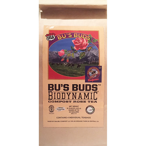 Malibu Compost Bu's Buds Compost Tea for Flowering Plants and Roses