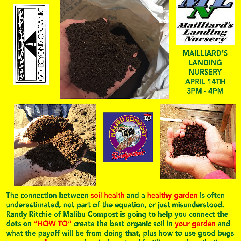 Healthy Soil... Happy Garden!!!