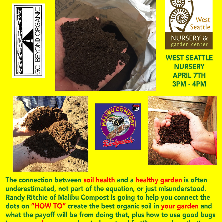 Healthy Soil...Happy Garden!!!