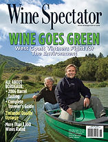 Wine Spectator Magazine Cover Biodynamic Soil Issue
