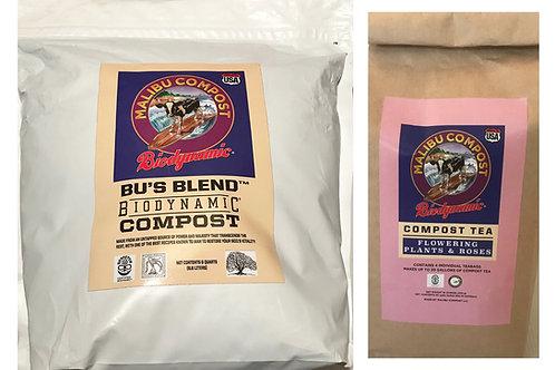 Organic Rose Garden Package