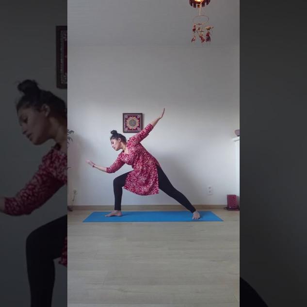 Online Yoga session