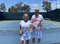 Congratulations to Patricia Perry & Rob Levy Wimbledon Mixer Winners