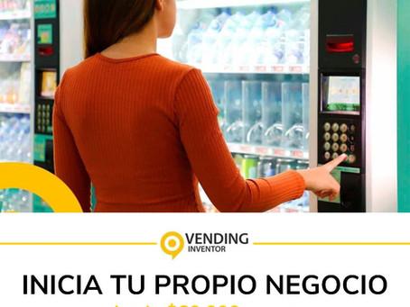¡¡¡Inicia ahora!!! tu propio negocio de Máquinas Expendedoras invirtiendo desde MXN 60,000. -