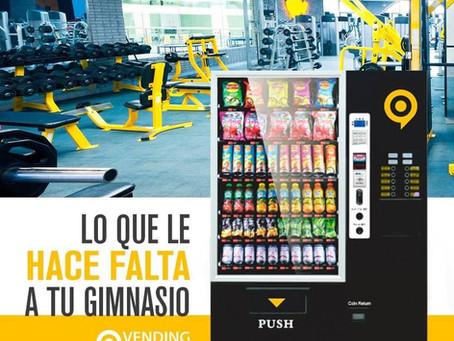 Máquinas de Vending en Gimnasios y Centros deportivos: un gran valor añadido