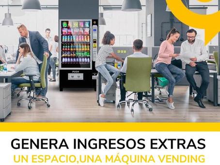 Instalar una máquina vending en tu oficina es una buena decisión.!!!