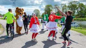 Niets dan lachende gezichten tijdens Beemster Erfgoed Marathon