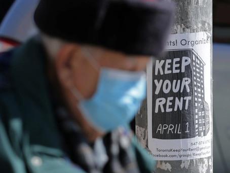 Rent strikes loom across Canada as coronavirus kills daily-wage jobs