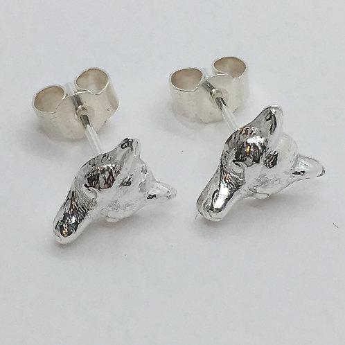 Fox Mask Earrings