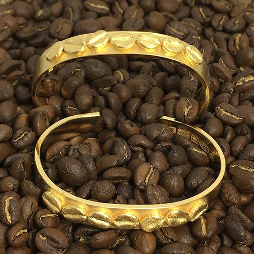 Coffee Bean Bangle