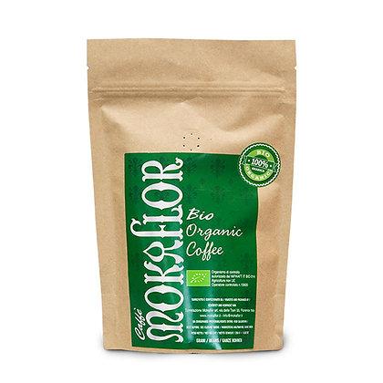 Café en Grano Mokaflor Bio Organic 100% Arábica 250 gr