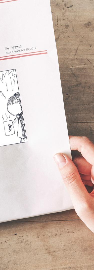 Comics in the newspaper