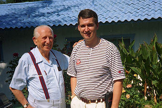 Thor Johansen med Bernard Jensen