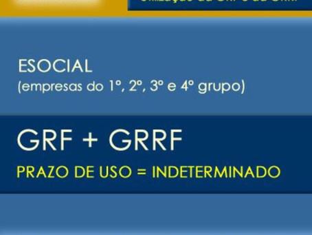 GRF e GRRF uso no SEFIP por prazo indeterminado