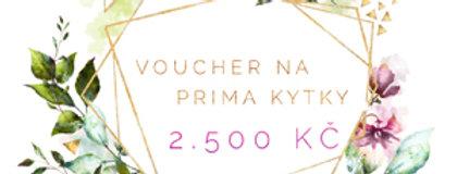 Dárkový poukaz na 2.500 Kč