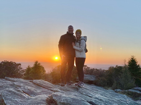 Asheville Anniversary Adventure: Celebrating One Year of Pandemic Marriage
