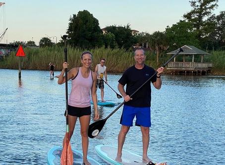 Matt's Maiden Paddle: Sunrise Paddle or Sunrise Splash?