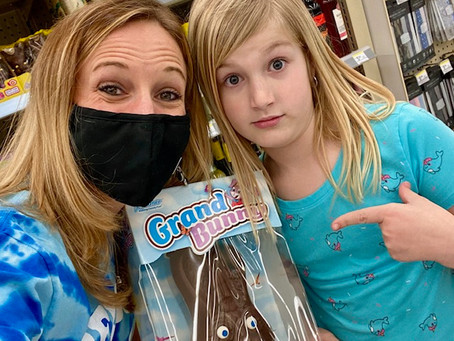 Reagan's Guest Blog: My Stepmom's Chocolate Bunny Obsession!