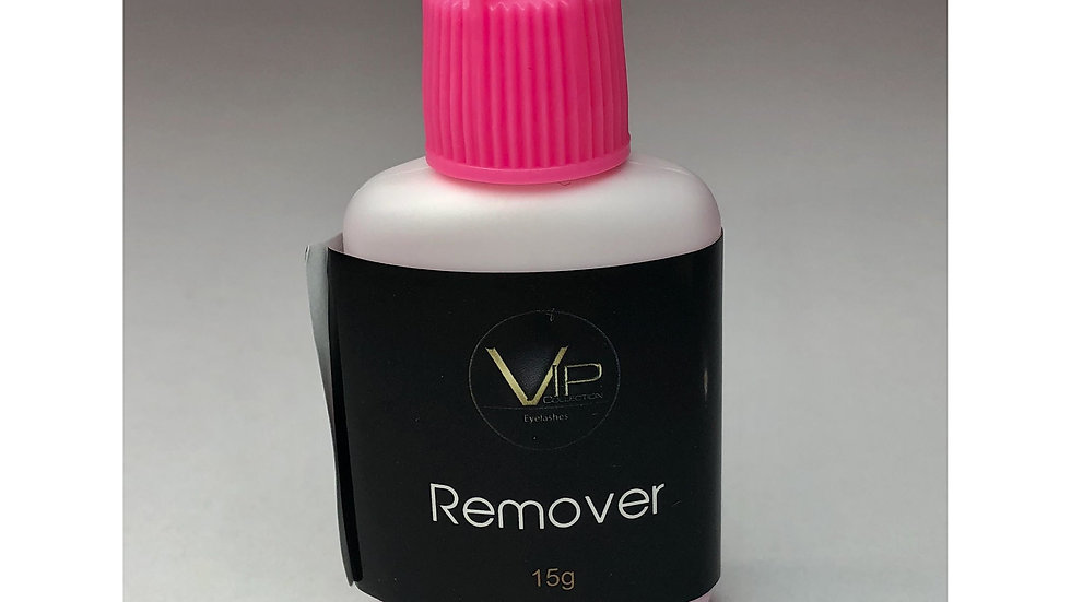 VIP-Eyelash Accessories- Pink Gel Eyelash Glue Remover (15 g)