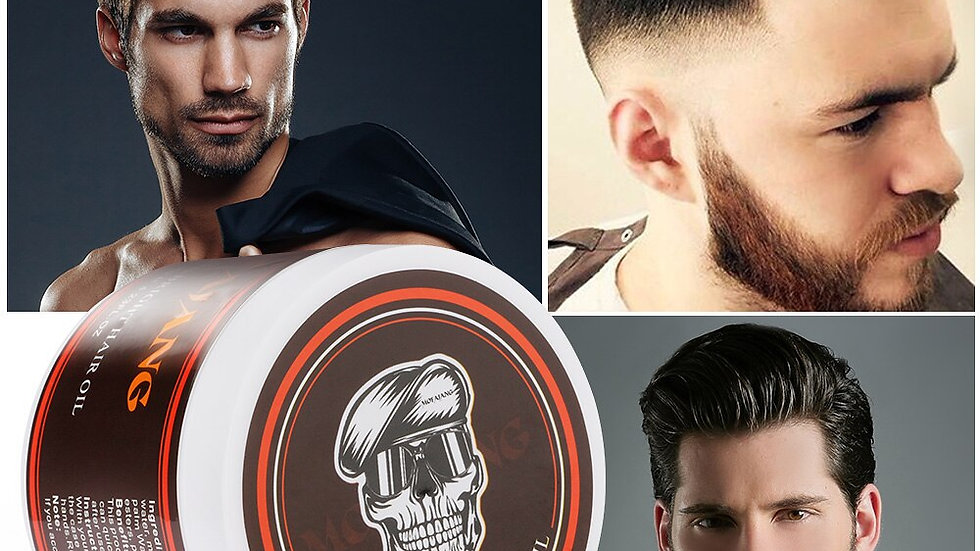 Hair Wax Pomade Styling Wax Cream Men Long-lasting
