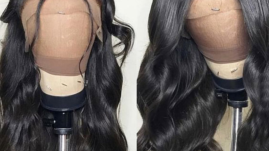 Wigs for BlaBrazilian Body Wave Glueless Full Lace Wigs With Baby Hair Remy Hair