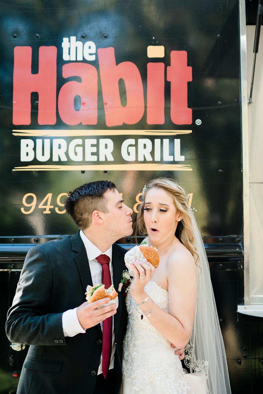 the habit bride and groom food truck