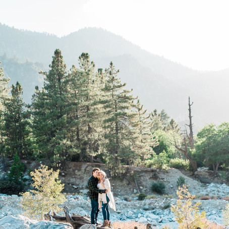 Holly & Sam's Mountain Top Engagement Session