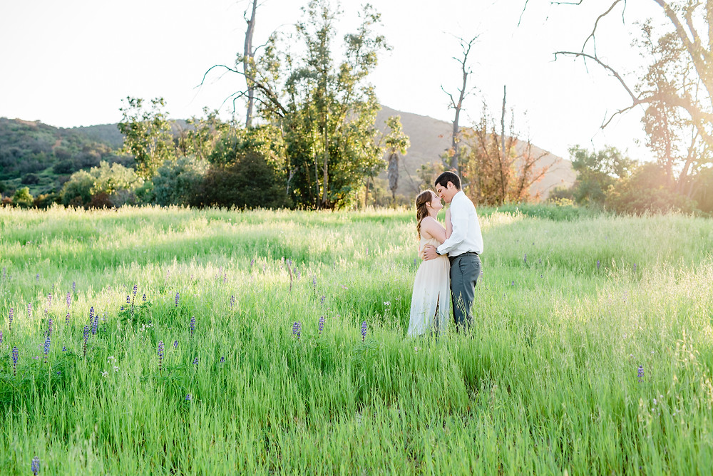 corona California open field engagement session