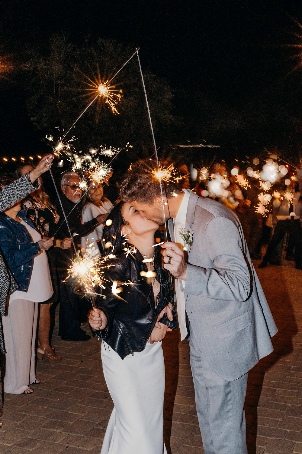 Wedding Venue Serendipity Garden Weddings Sparkler Exit