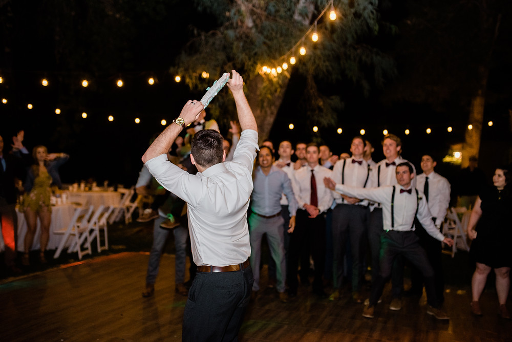 garter loss into excited single guys