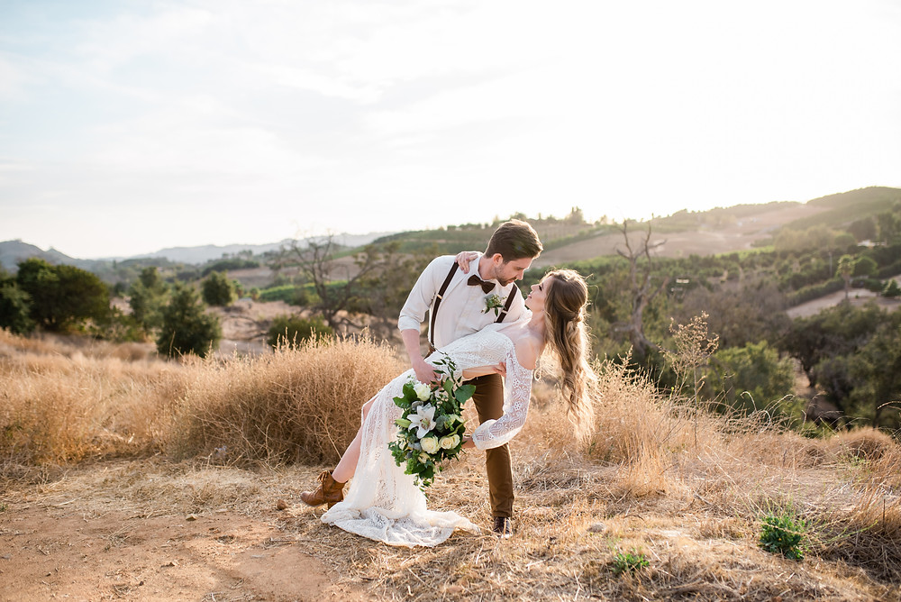 Boho Temecula wedding photography