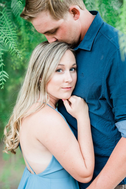 beautiful makeup for engagement photos southern California.