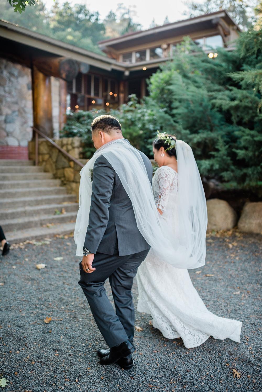 intimate wedding in southern California