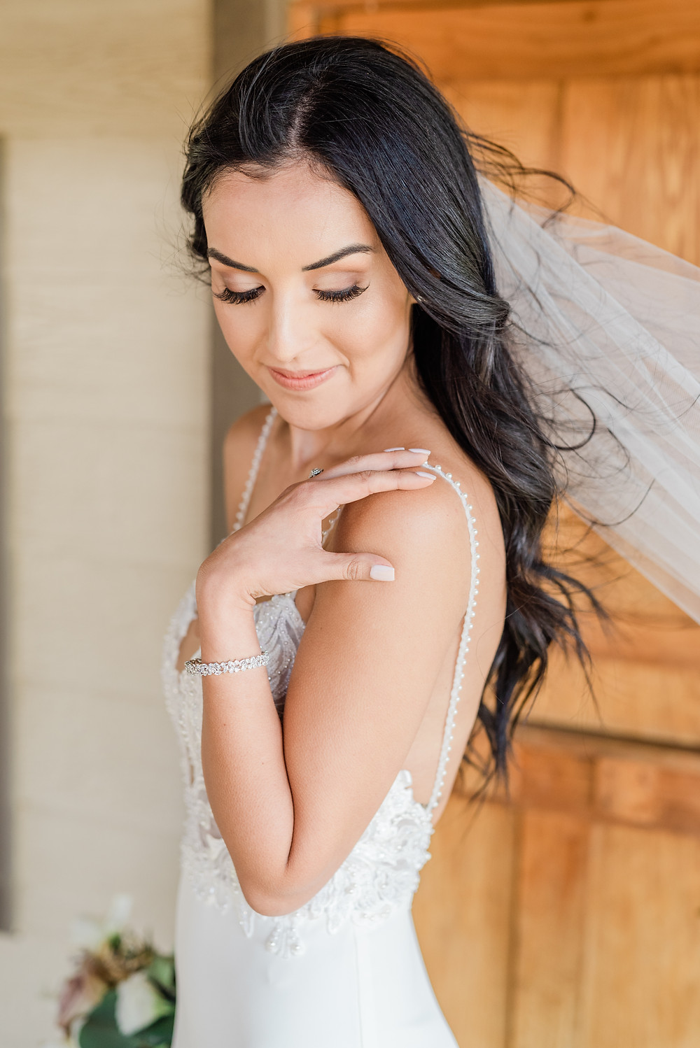 bridal makeup Serendipity Garden Wedding Photography, Oak Glen Ca