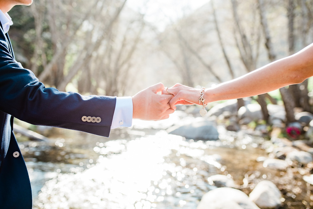azusa canyon engagement session