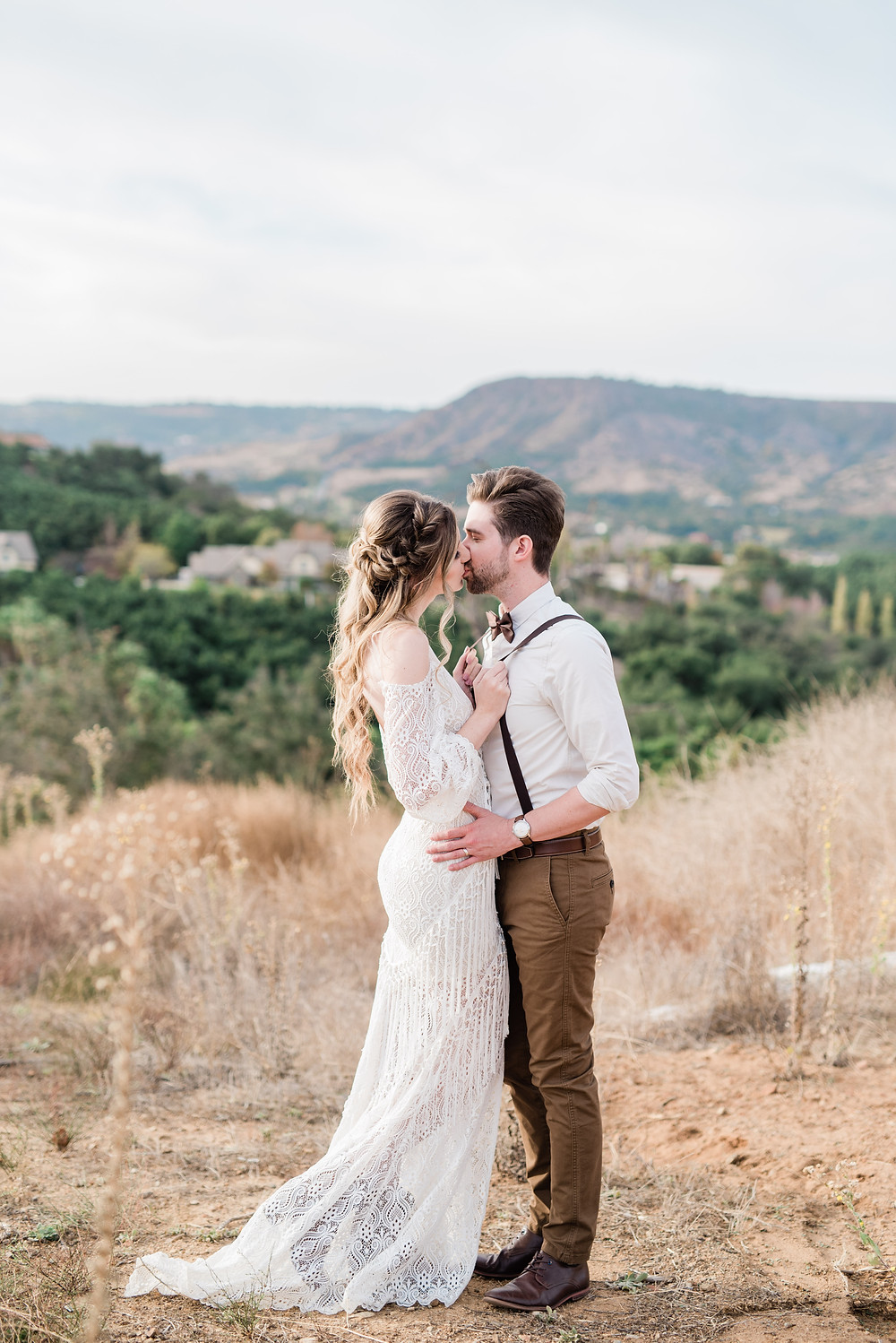bohemian wedding dress Temecula