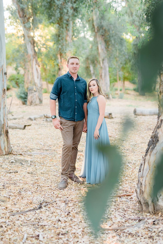 romantic engagement photographer in southern California Murrieta.