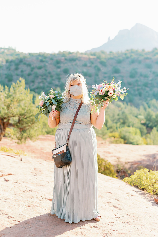 covid bridemaid