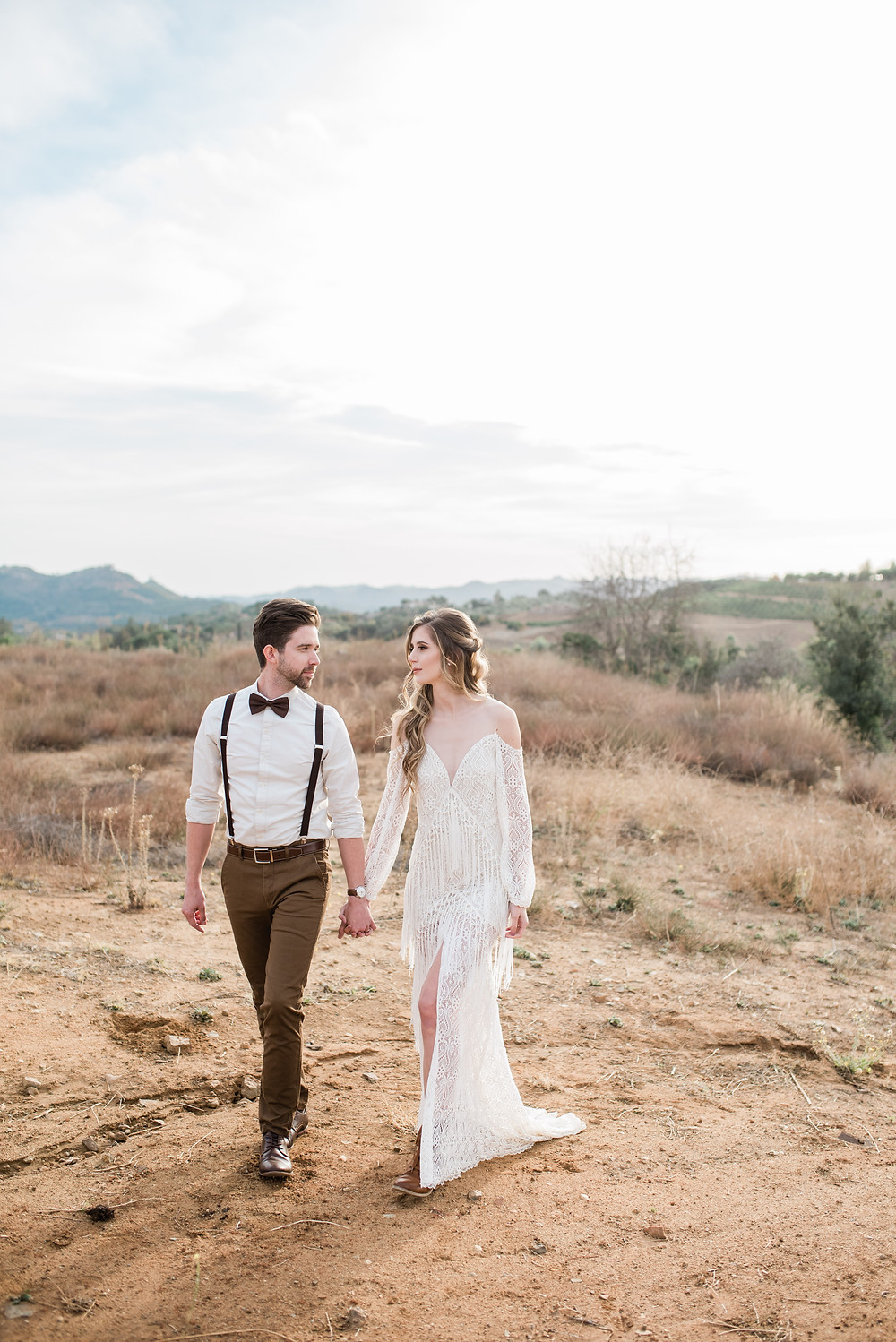 Temecula wedding photographer Bohemian Wedding