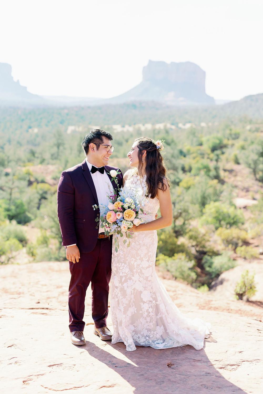 cathedral rock Sedona Arizona adventure elopement