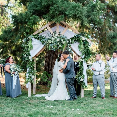 A Gorgeous Lake Gregory Wedding