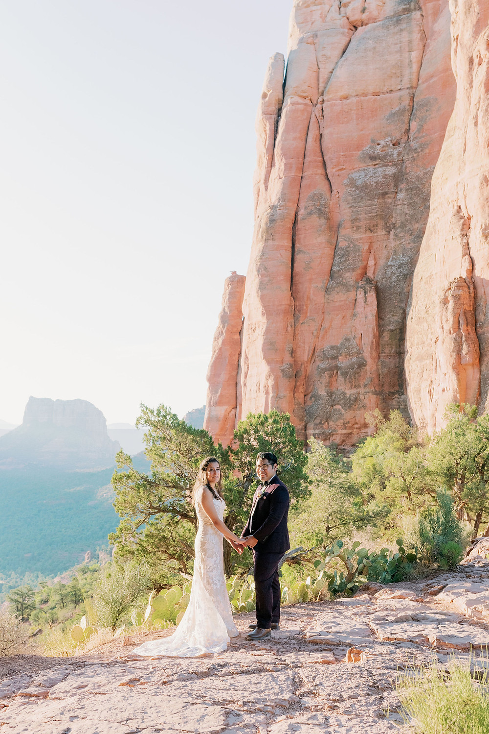 cathedral rock wedding elopement