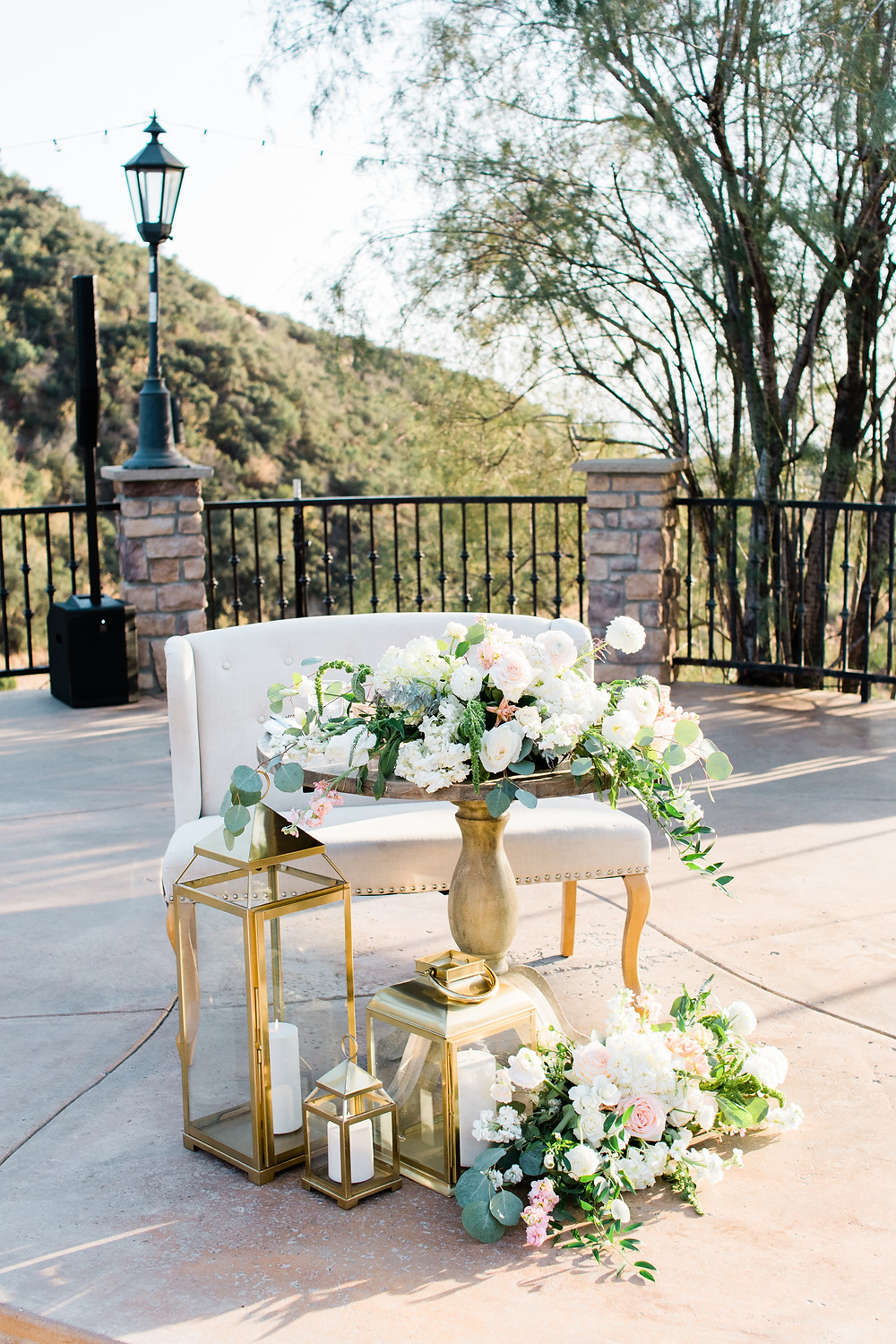 Serendipity Gardens Oak Glen Inland Empire Wedding Venue Sweet Heart Table