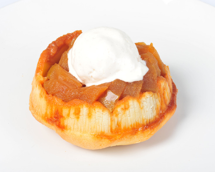 Apple Torte Close Up
