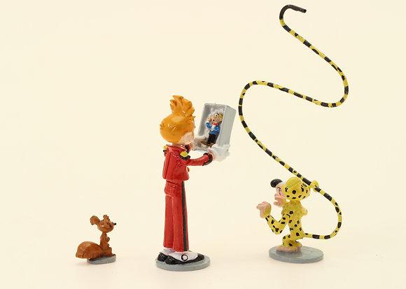 Collection classique Franquin - Spirou, Spip, le Marsupilami et le mini Fantasio