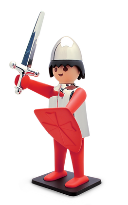 LE CHEVALIER PLAYMOBIL