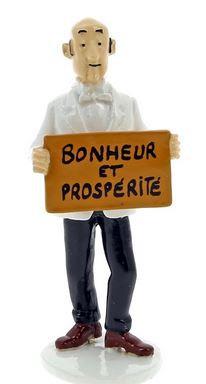 Carte de voeux - Nestor - Bonheur et prospérité